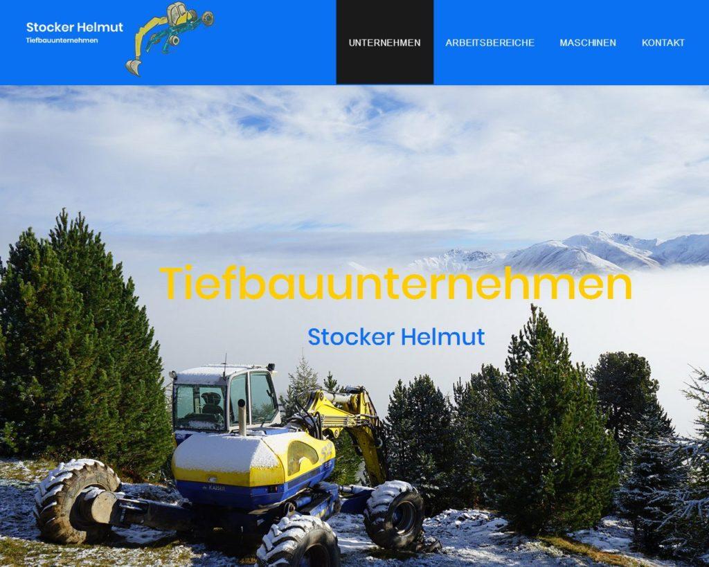 Stocker Helmut - Tiefbauunternehmen